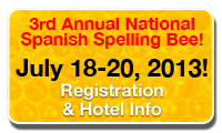 nationalspanishspellingbee.com | Annual National Spanish ...